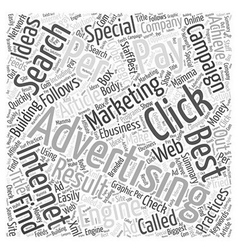 Best Result For Pay Per Click Advertising Search vector
