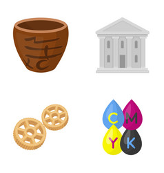 Business history tourism and other web icon in vector