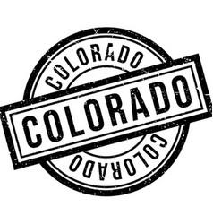 Colorado rubber stamp vector