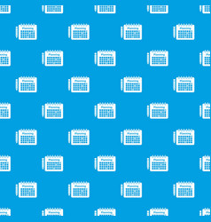 planning pattern seamless blue vector image