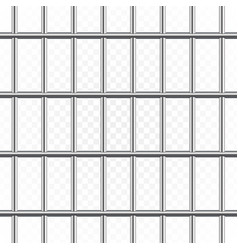 prison or jail bars vector image