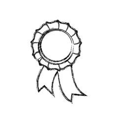 Ribbon award symbol vector