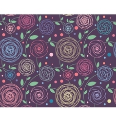 Seamless Floral Pattern vector image