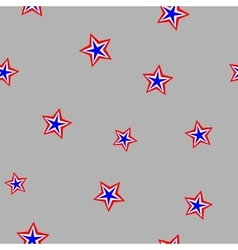 Star chaotic seamless pattern 306 vector