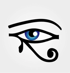 The eye of Horus vector image