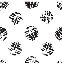 wine cork stain circle black and white vector image
