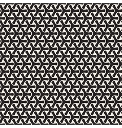 Seamless Black and White Mosaic Triangular vector image vector image