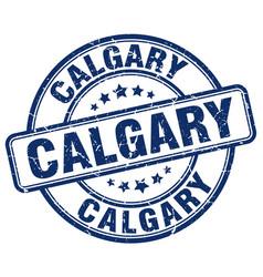 Calgary stamp vector