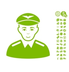 Aviator Icon With Free Bonus vector