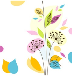Bstract floral background vector