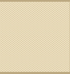 Knitted beige pattern vector