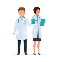 Medical doctors healthcare and medical help vector