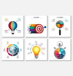 Startup research creative infographics vector