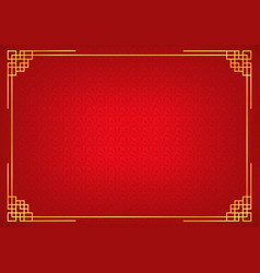 red chinese abstract background vector image