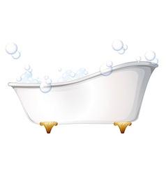 A bathtub vector image vector image