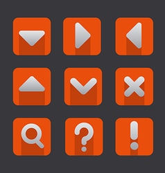 soft icon set vector image vector image