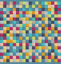 abstract colorful squares pattern pixel vector image