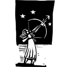 Arrow to the Sky vector image
