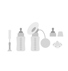 Feeding devices for infants vector