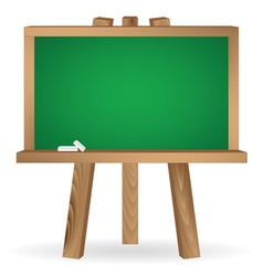 Green school board vector