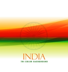 indian flag colors orange and green vector image