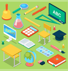 School supplies education schooling vector