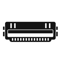 Cartridge roll icon simple style vector