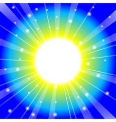 magic glow vector image