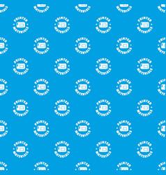 printer materials pattern seamless blue vector image