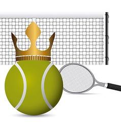 Tennis design vector image