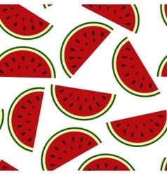 Wallpaper juicy summer watermelon slices vector image