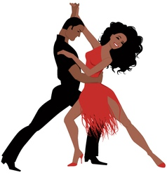 Latin dance vector image vector image