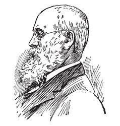 charles anderson dana vintage vector image