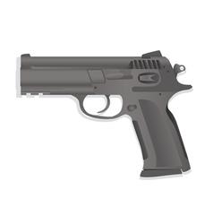 Handgun collection vector image