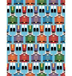 Nutcracker pattern vector
