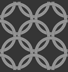 seamless background greek style vector image