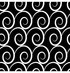 Wave geometric seamless pattern 706 vector image