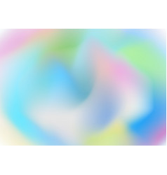 Abstract colorful soft wavy gradient pastel vector
