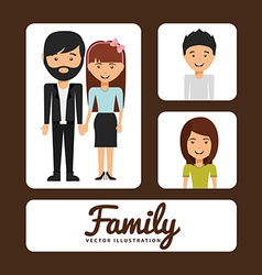Family album vector