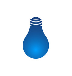 idea concept light bulb icon glowing lamp sign vector image
