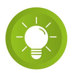 light bulb idea cartoon vector image