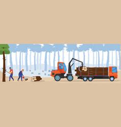 People woodworking cartoon vector