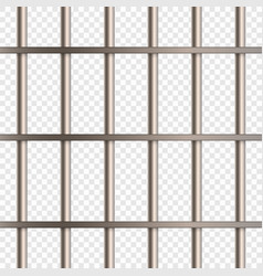 Prison cell bars vector