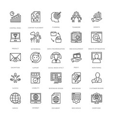 Web design and development icons 11 vector
