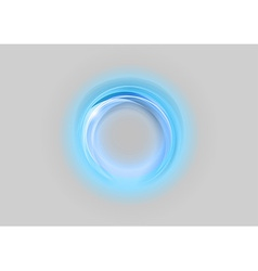 neon light soft blue vector image vector image