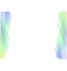 blue and green geometric spectrum abstract vector image