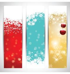Christmas banners vector