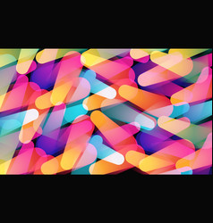 abstract background bright colorful lights vector image