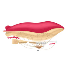 Airship zeppelin dirigible vector