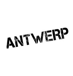 Antwerp rubber stamp vector